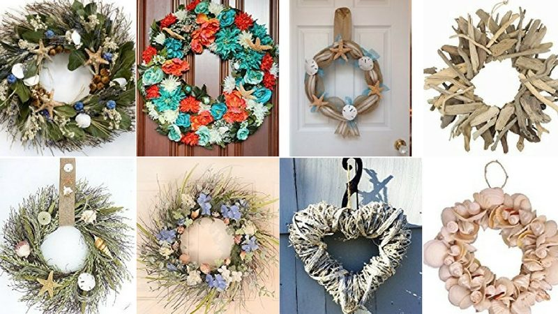 Beach Christmas Wreaths