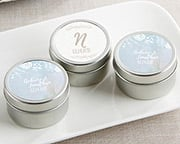 personalized-candles Candle Wedding Favors