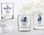personalized-nautical-votive Candle Wedding Favors