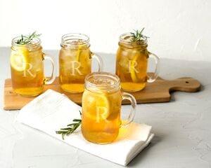 personalized-old-fashioned-mason-jar-favors Mason Jar Wedding Favors