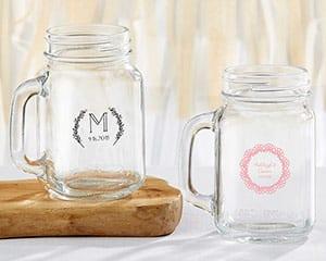 personalized-rustic-charm-mason-jar-favors Mason Jar Wedding Favors