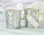 sparkle-and-shine-glitter-votive Candle Wedding Favors