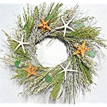 starfish-of-the-beach-wreath 70+ Beach Christmas Wreaths and Nautical Wreaths