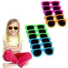 toy-cubby-assorted-neon-colored-sunglasses-kids Sunglasses Wedding Favors
