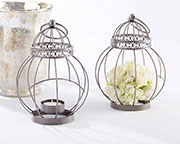 vintage-bird-cage-lantern Candle Wedding Favors