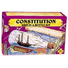 203-Ship-in-Bottle-Constitution-Kit Ship In A Bottle Kits and Decor