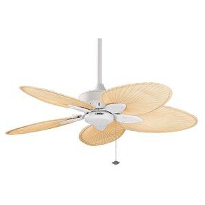 22-windepointe-ceiling-fan-white Best Palm Leaf Ceiling Fans