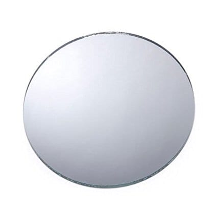 5-inch-round-diy-mirror-for-shells Seashell Mirrors and Capiz Mirrors