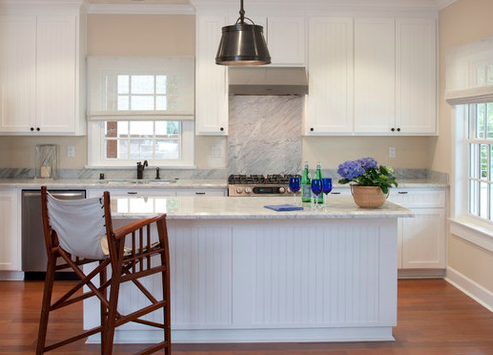 Americas-Cup-Kitchen-by-Flagg-Coastal-Homes 101 Beautiful Beach Cottage Kitchens