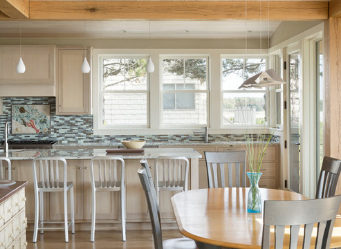 Beach-Frame-by-Caleb-Johnson-Studio-2 101 Beautiful Beach Cottage Kitchens