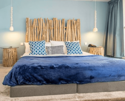 Chambres-by-Francoise-Wattel 101 Beach Themed Bedroom Ideas