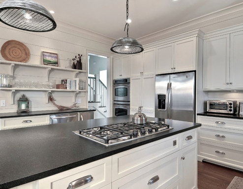 Classy-Cottage-2-by-Robert-Paige-Cabinetry-LLC 101 Beautiful Beach Cottage Kitchens