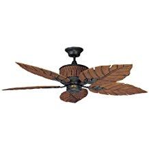 Concord-Fans-52FEB5RI-52-Inch-Fernleaf-Breeze-Damp-Location-Ceiling-Fan-Rustic-Iron-217 Best Palm Leaf Ceiling Fans