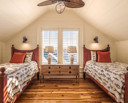 Debordieu-Traditional-New-Construction-by-Elizabeth-Taylor-Satterfield-Interior-Design-Inc 101 Beach Themed Bedroom Ideas