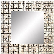 Deco-79-Wood-Capiz-Mirror-Join-The-Fashion-of-Capiz-Decor Seashell Mirrors and Capiz Mirrors