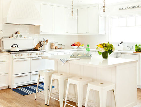 El-Segundo-Beach-Cottage-by-Nest-By-The-Sea 101 Beautiful Beach Cottage Kitchens
