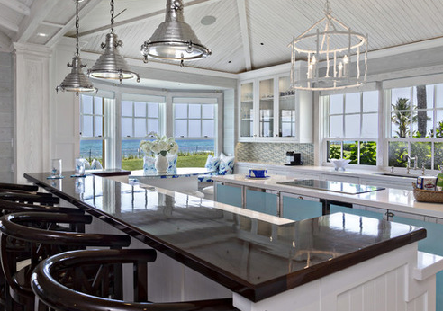 Florida-Beach-Cottage-2-by-Village-Architects-AIA-Inc 101 Beautiful Beach Cottage Kitchens