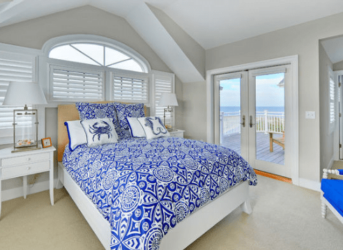 Guest-Bedroom-by-Echelon-Custom-Homes 101 Beach Themed Bedroom Ideas
