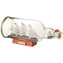 Hampton-Nautical-HMS-Victory-Model-Ship-in-a-Glass-Bottle Ship In A Bottle Kits and Decor