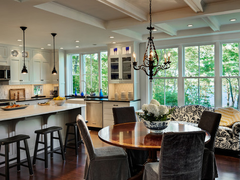 Hills-Beach-Cottage-by-Whitten-Architects 101 Beautiful Beach Cottage Kitchens