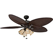 Honeywell-Palm-Island-52-Inch-Tropical-Ceiling-Fan-with-4-Sunset-Shade-Lights-159 Best Palm Leaf Ceiling Fans
