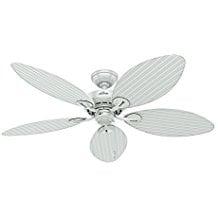 Hunter-Fan-Company-54097-Bayview-54-Inch-ETL-Damp-Listed-Ceiling-Fan-166 Best Palm Leaf Ceiling Fans