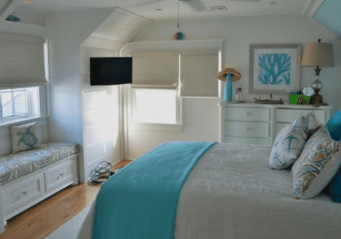 Jersey-Shore-by-A-and-J-Interiors-LLC 101 Beach Themed Bedroom Ideas