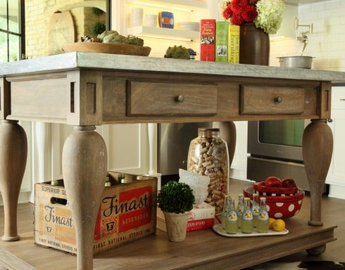 Kitchen-by-Bayberry-Cottage 101 Beautiful Beach Cottage Kitchens
