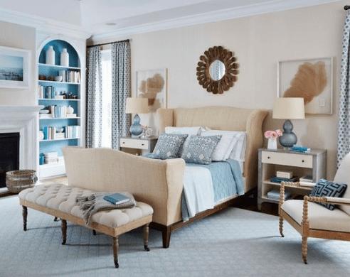 Lemon-Street-by-Andrew-Howard-Interior-Design 101 Beach Themed Bedroom Ideas