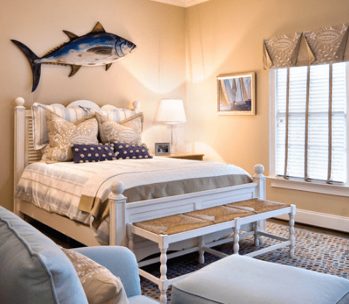 Lorraine-Vale-Beach-Bedroom-Design 101 Beach Themed Bedroom Ideas