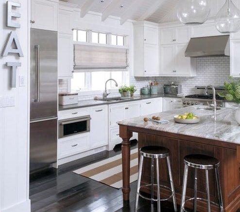 Muskoka-Cottage-by-Nest-Design-Studio 101 Beautiful Beach Cottage Kitchens