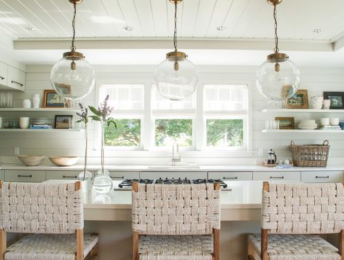 Nantucket-Cottage-Kitchen-by-Jill-Howard-Design-Studio 101 Beautiful Beach Cottage Kitchens