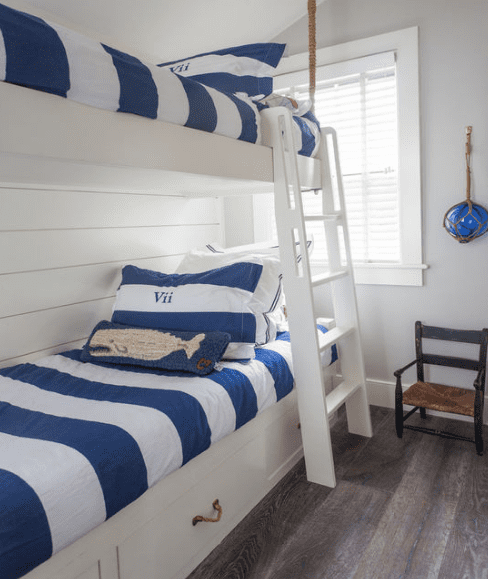 Nantucket-Small-Cottage-by-Design-Associates-Inc 101 Beach Themed Bedroom Ideas