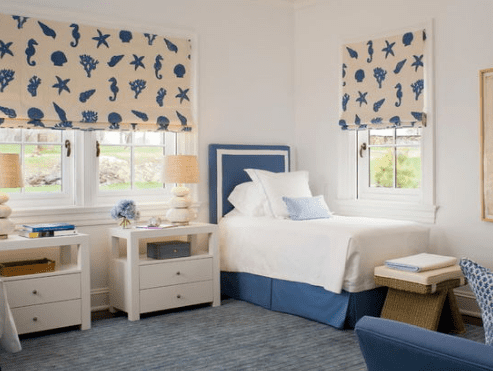 Ocean-Front-Estate-by-Kirby-Perkins 101 Beach Themed Bedroom Ideas