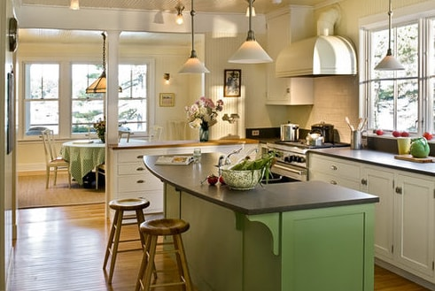 Pinewold-by-Whitten-Architects 101 Beautiful Beach Cottage Kitchens