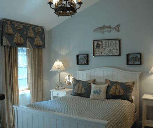 Portfolio-by-Manhattan-Textiles 101 Beach Themed Bedroom Ideas