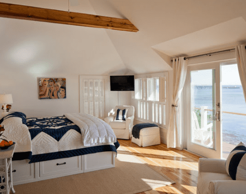 Provincetown-Beach-House-by-Peter-McDonald-Architect 101 Beach Themed Bedroom Ideas