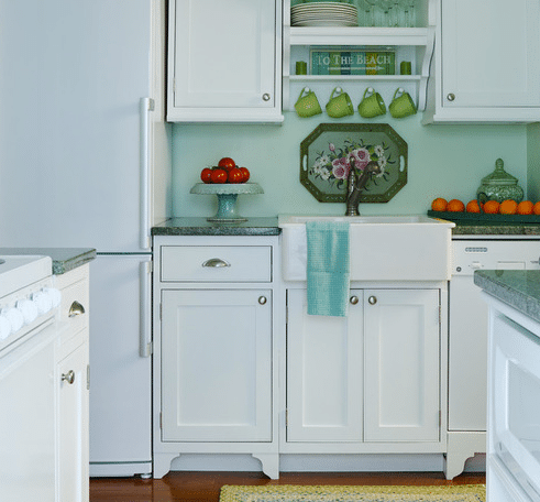 Small-Lake-Cottage-Style-by-Gridley-Graves-Photographers 101 Beautiful Beach Cottage Kitchens