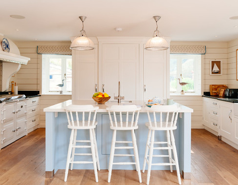 The-Yellow-Cottage-by-Perfect-Stays 101 Beautiful Beach Cottage Kitchens