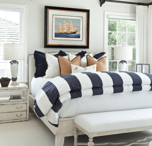 Traditional-Beach-Ocean-Boulevard-by-Barclay-Butera-Interiors 101 Beach Themed Bedroom Ideas