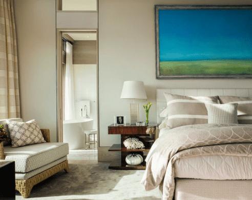 Truro-Beach-House-Master-Bedroom-by-Jill-Neubauer-Architects 101 Beach Themed Bedroom Ideas