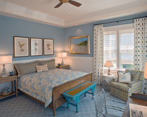 Waterfront-Retreat-by-Bruce-Palmer-Coastal-Design 101 Beach Themed Bedroom Ideas