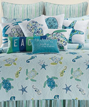 beach-bedding-300x360 Beach Decor and Coastal Decor