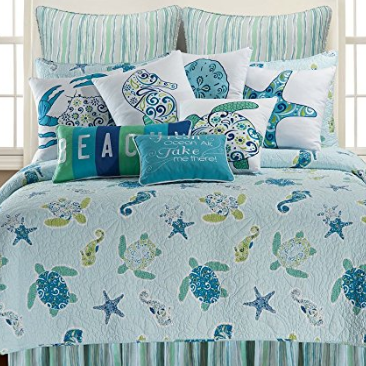 beach-bedding Beach Decor and Coastal Decor