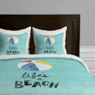 beach-duvet-covers Beach Home Decor