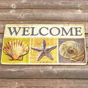 beach-themed-doormats-300x300 Beach Decor and Coastal Decor