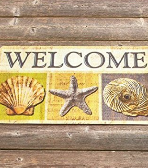 beach-themed-doormats-300x340 Beach Decor and Coastal Decor