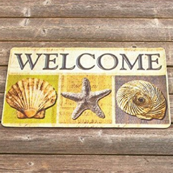 beach-themed-doormats Beach Decor and Coastal Decor