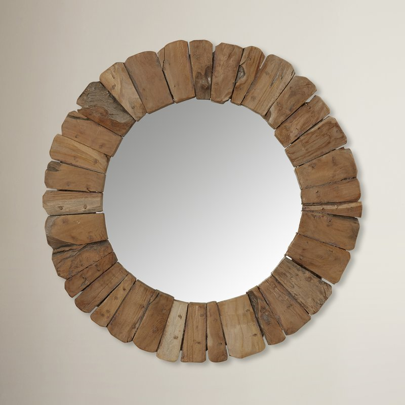 beach-wall-mirrors Beach Home Decor