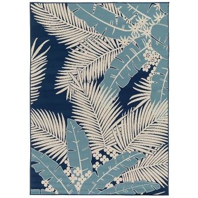 bethel-ivory-tropical-rug Tropical Rugs and Tropical Area Rugs